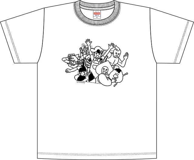 ED絵柄Tシャツ受注販売スタート!